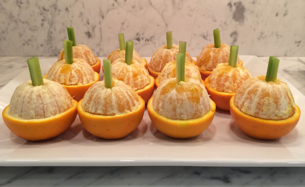 orange fruit pumpkins, healthy creative halloween food