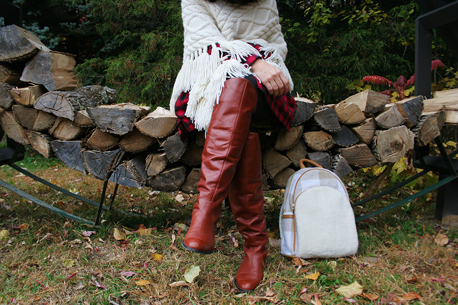 fall-outfit-knee-high-boots-back-pack-knit-shawl-7