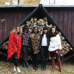 fire-wood-stack-girls-in-catskills-new-york