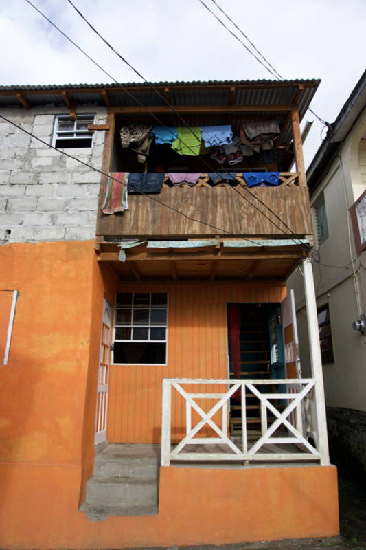 orange-house-drying-clothes-soufriere-saint-lucia