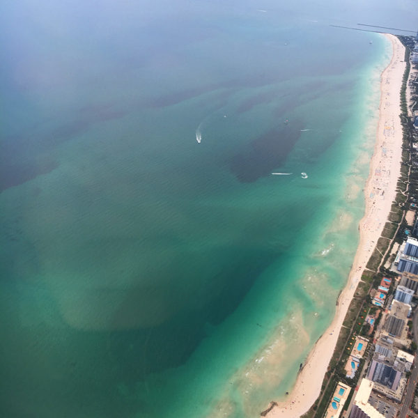 aerial-view-turquoise-water-miami-florida