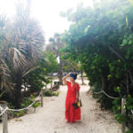 miami-beach-ootd-coral-cover-up-head-wrap