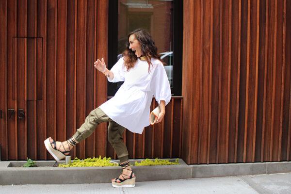 green-silk-pants-white-zara-poplin-dress-ootd-fashion-blogger-11