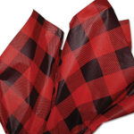 red-black-plaid-tissue-paper