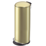 gold-trash-can