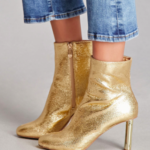gold-booties