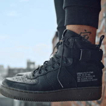 Footlocker x Nike [Black/Dark Hazel SF Air Force 1 Mid]