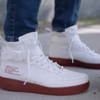 Footlocker x Nike [Ivory/Mars Stone SF Air Force 1 Mid]