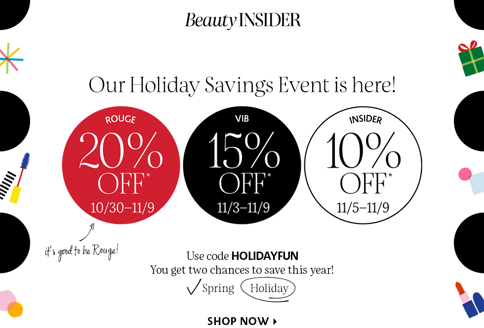 Shop My Faves From the Sephora Holiday Savings Event